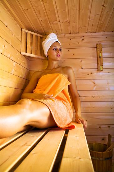 Afslapning i spa og sauna